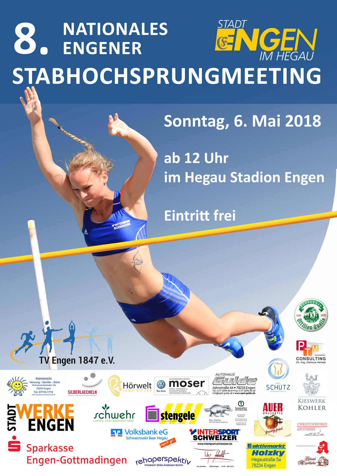 8. Nationales Stabhochsprungmeeting